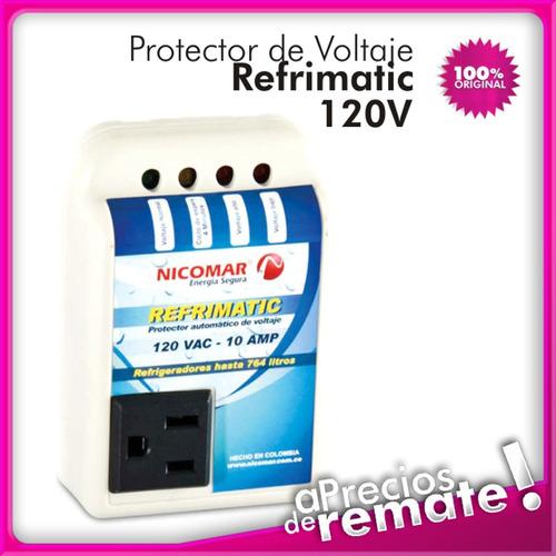 * protector voltaje 120v 10a refrimatic nevera congelador !!