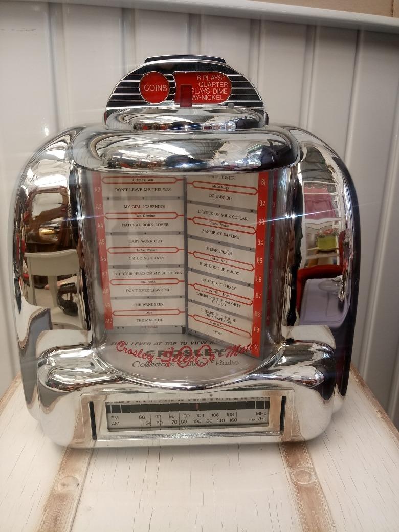 *-* Radio Rockola Crosley Am/fm Y Casette *-* - $ 1,800 00
