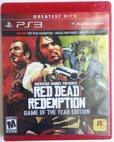 ..:: red dead redemption game of the year ::.. playstation 3