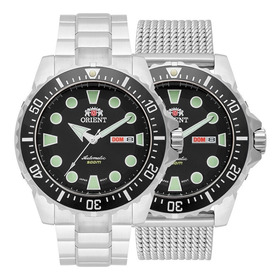 Relógio Orient Automático Netuno  469ss073 D1sx-oficial Nfe