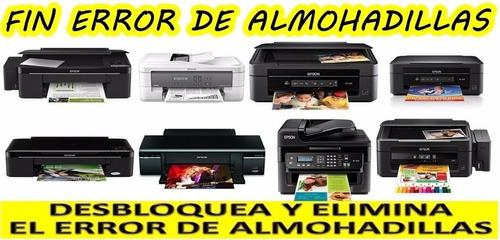 ++ reset almohadillas epson wf2530 wf2520 wf2540 ++