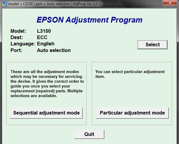 + Reset Original Almohadillas Epson L3150 Repara Almohadilla