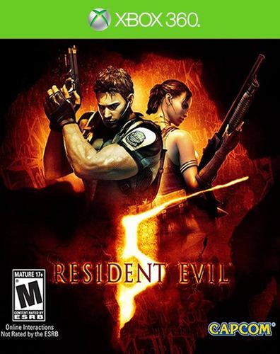 °° resident evil 5 para xbox 360 °° en bnkshop