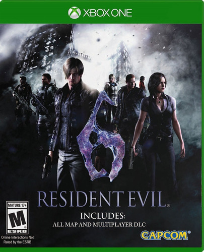 ..:: resident evil 6 ::.. para xbox one en game center