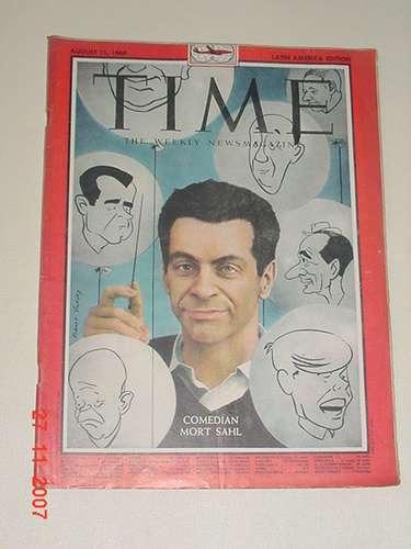 * revista time - 15 de agosto de 1960 *