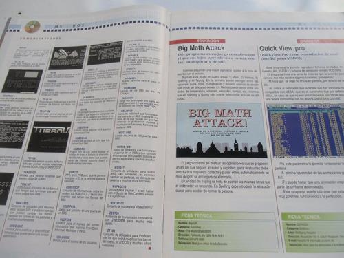 + revistas de computadora 16 bits con cd original.