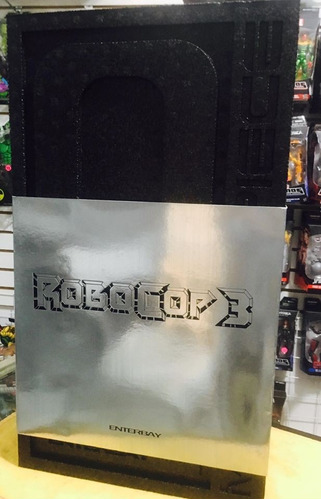 --- robocop 1/4 escala enterbay 18 pulg. electronico ---