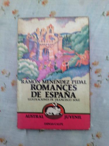 + romances de españa r menendez p. con partituras musicales