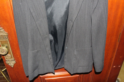 = roupa lote 593 mulher terno risca de giz paleto truss 44