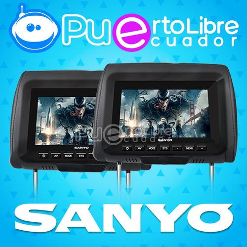 = s a n y o = pantalla cabeceras 7  usb mp3 + control remoto