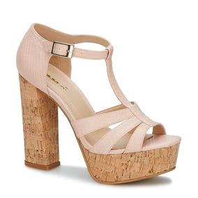 07d557e0 Zapatos Old Navy Tacon Corcho Mujer - Zapatos Rosa claro en Mercado ...
