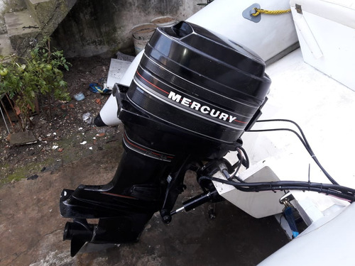*-*-* semirrigido motor mercury 45 excelente*-*-*