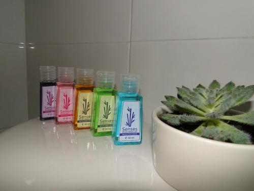 ¡ set x5 espumas d baño aroma senses burbujas spa jacuzzi !!