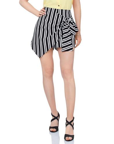 * short falda personality con amarre al costado lzg3119