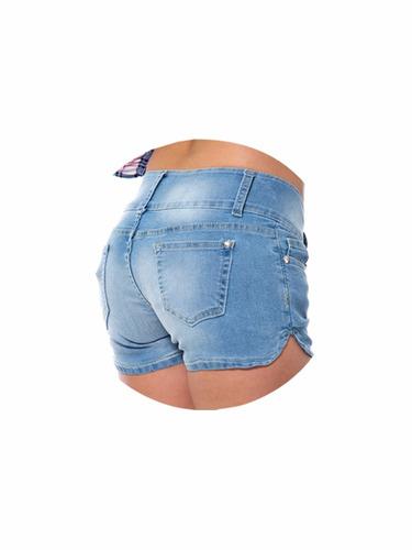 - short para dama disparate jeans color bleach gei130