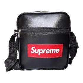 Shoulder Bag Pochete Lateral Bolsa Do Corre Couro Sintético