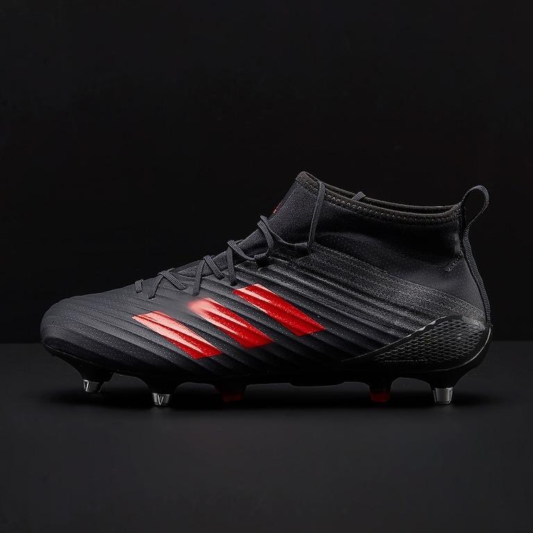 03925b33b Sin Stock ! Botines Rugby adidas Predator Flare Sg Red -   7.200