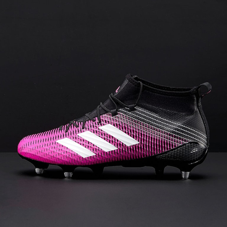 93160ef40 Sin Stock ! Botines Rugby Predator Flare Sg Pink adidas -   6.400