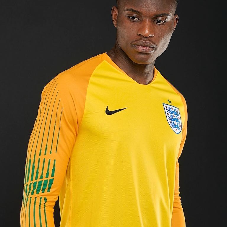 Sin Stock !! Camiseta Arquero Futbol Inglaterra 2018 19 -   4.200 fdf3abd7a4c6e