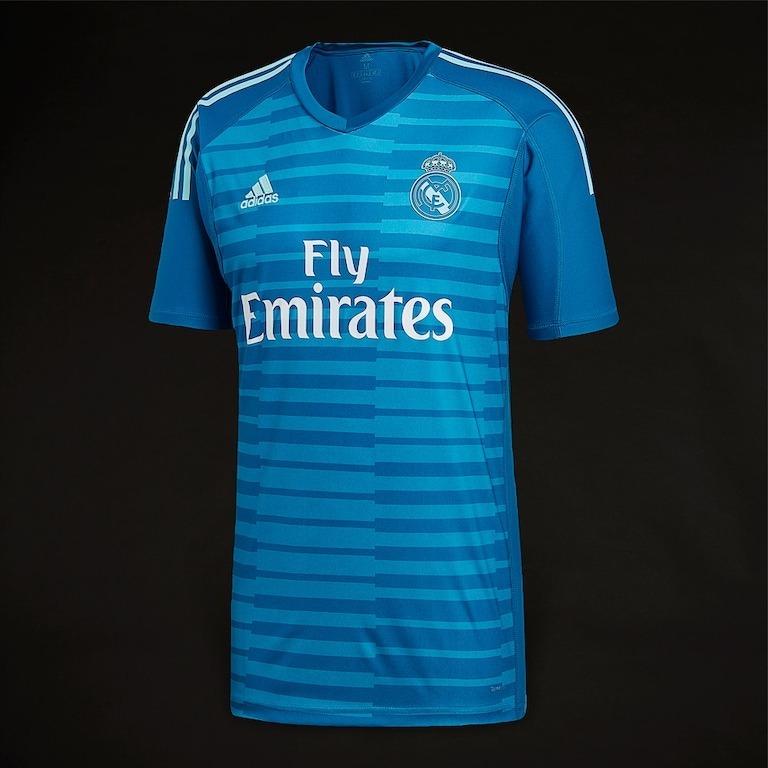 3180fc648cbd0 Sin Stock !! Camiseta Arquero Futbol Real Madrid 2018 19 -   4.800 ...