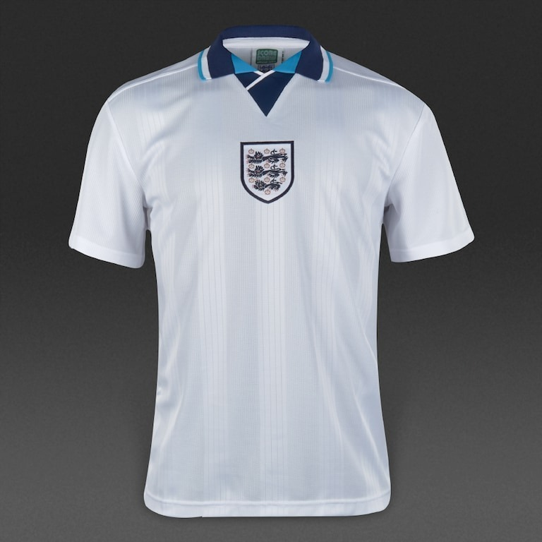 Sin Stock !! Camiseta Futbol Inglaterra Retro 1996 Home -   4.800 702d06271b6b5
