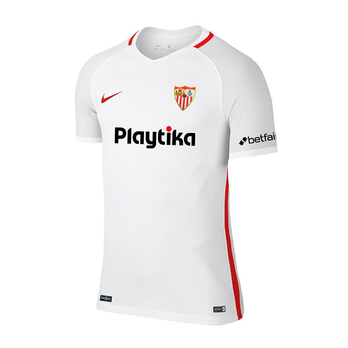 Sin Stock !! Camiseta Futbol Sevilla 2019 Nike Home -   6.200 81cda7b99af24