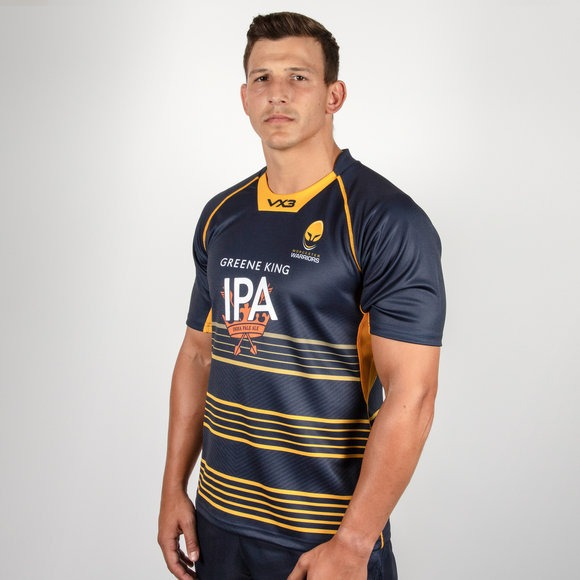 870fc177a1 Sin Stock ! Camiseta Rugby Worcester Warriors 2018 19 -   4.900