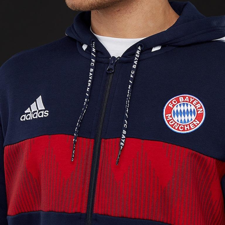 2fd701b96 Sin Stock !! Campera Bayern Munich 2019 adidas Hoodie - $ 5.500,00 ...