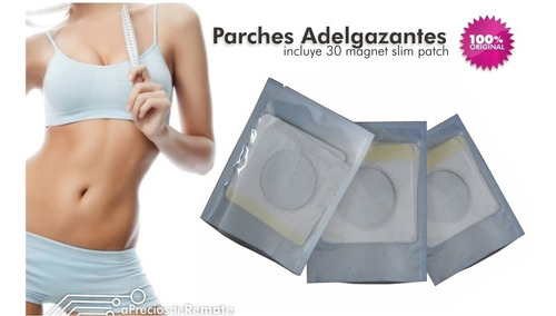 ¡ slim patch biomagnetico parches adelgazantes para 1 mes!!