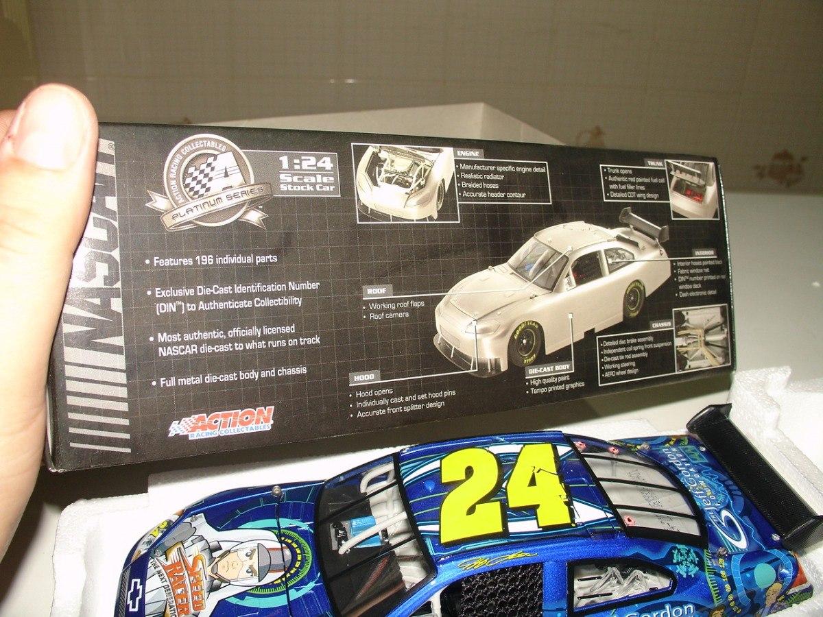 Speed Racer 124 Jeff Gordon Foundation New Generation Acti