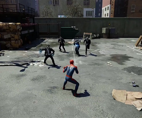 ..:: spider man ::.. para playstation 4 start games a meses