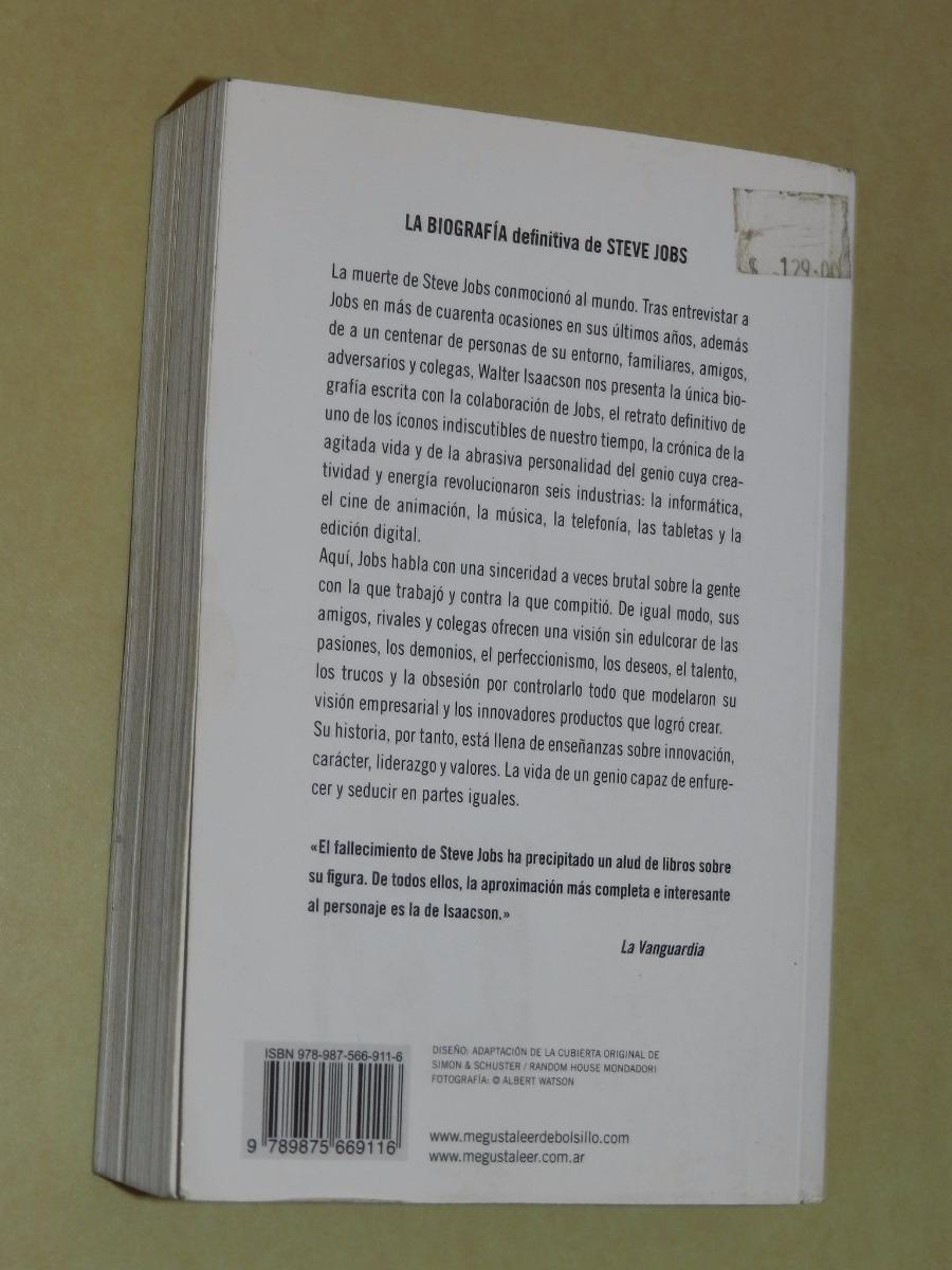 eaaca968f65 steve jobs la biografia - w. isaacson - debolsillo - l059. Cargando zoom.