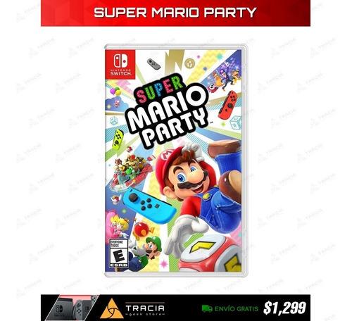[ super mario party ] nuevo envio gratis switch | tracia