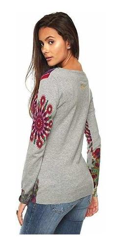 & sweater desigual l nuevo estampado con envío