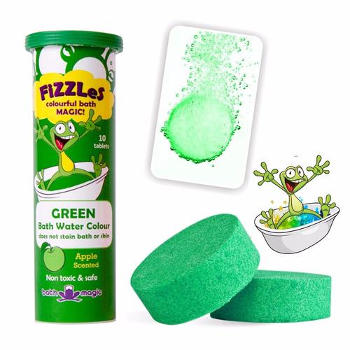¡ tableta efervescente verde fizzles tinas jacuzzi bañera !!