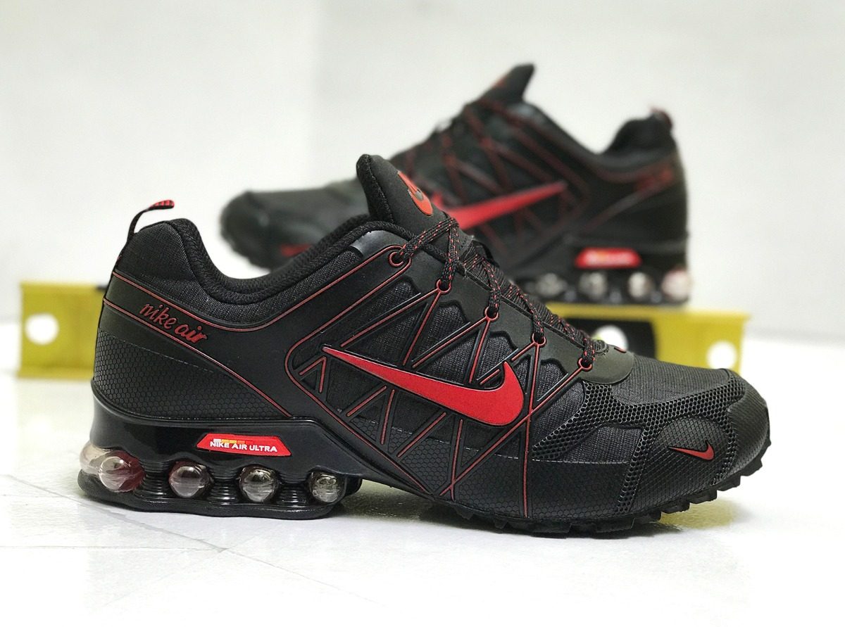 6fbe27c677 ... promo code for tenis nike shox air ultra tuned air nuevos black and red  2f1db 42f0f