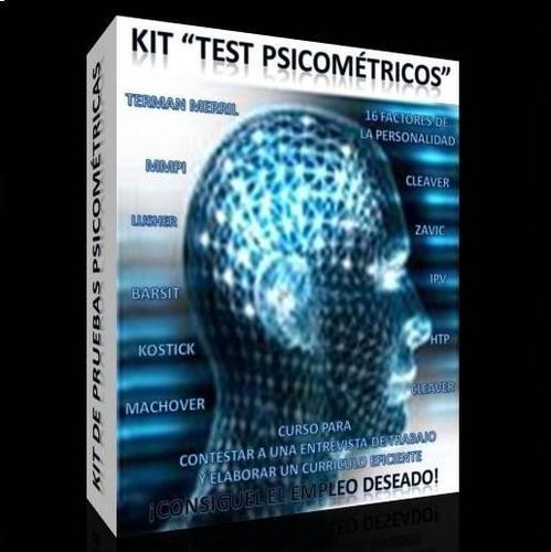 _ test psicometricos con pruebas, respuestas y analisis