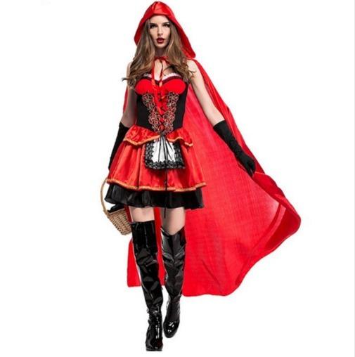 Traje + Capucha Disfraz Cosplay Halloween Caperucita   -   25.000 en ... 968d275f13ee