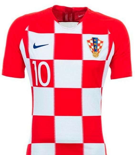3ab47bec6cb9d unica- El Mejor  Camiseta Luca Modric Croacia Final Mundial ...