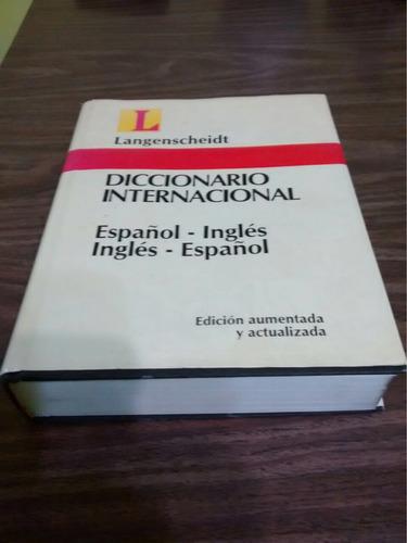 ### único diccionario míralo inglés español langenscheidt