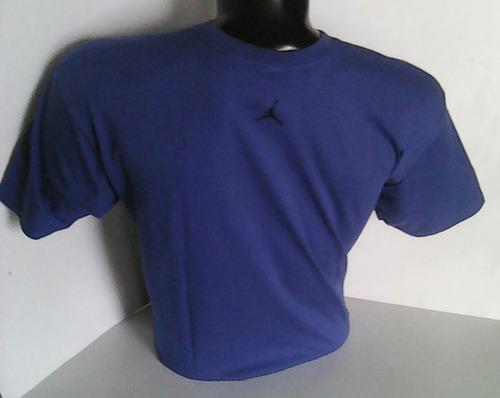 || usa || polo jordan  logo retro talla [x-l] color azulino