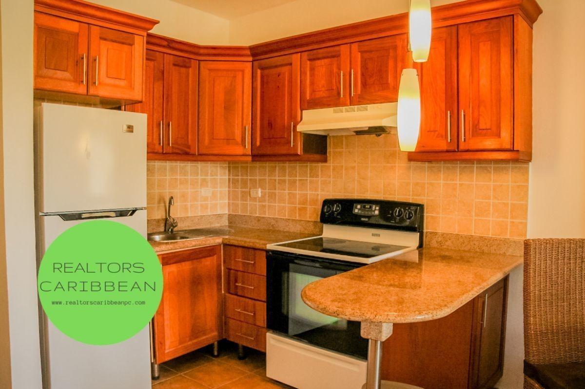¿ usd$ 600 cocotal bávaro-punta cana  2 dormitorios  primer piso vista golf