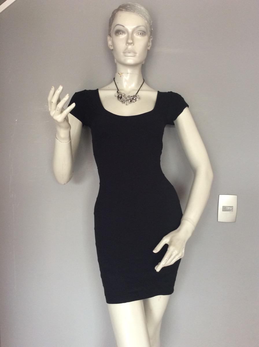 Vestido negro guess 2019