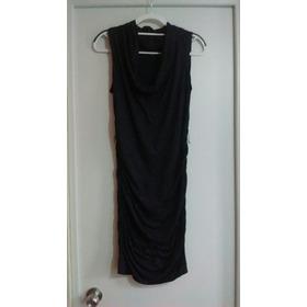 Vestido Noche Negro Fino Elegante  Remato Por Viaje!