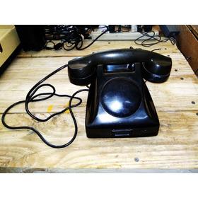 Viejo Teléfono De Baquelita Funciona Es Extención