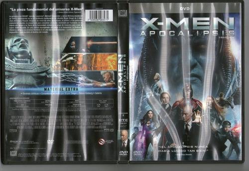 .: x - men: apocalipsis :.  dvd seminuevo!!!