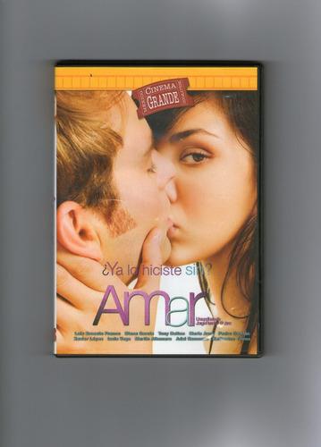 .: ¿ya lo hiciste sin amar? :. dvd seminuevo !!!