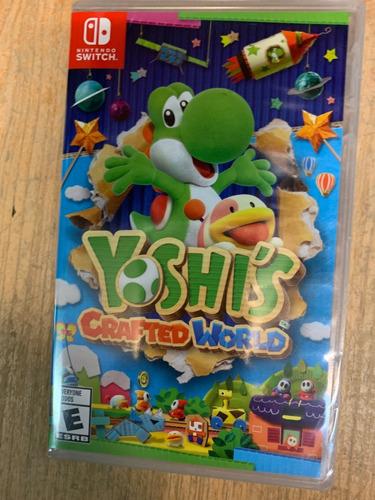 ..:: yoshi's crafted world ::.. para nintendo switch gamecen