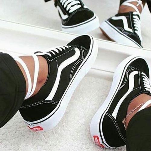 *+* zapatillas importadas/ vans old skool/ hombre y mujer*+*