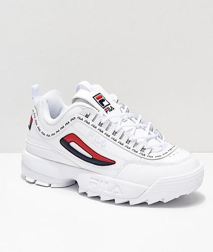 * ~* zapatos fila disruptor clasico, disruptor 2 importados